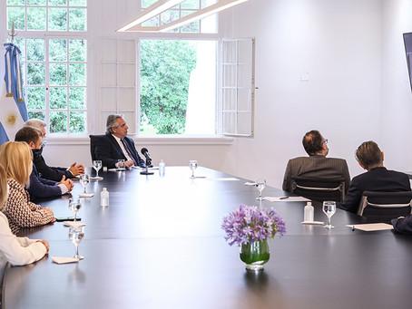 El Presidente encabezó un acto de anuncio de inversiones de la empresa Whirpool