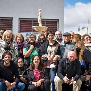 Mayra visitó el Centro de Jubilados y Pensionados Villa Esmeralda en Quilmes Oeste