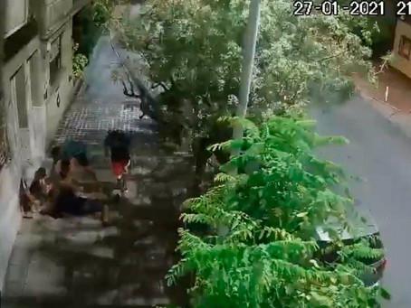 Avellaneda: violento robo a una joven que golpearon y tiraron al piso