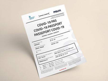 """Dinamarca fabricará un """"corona-pasaporte"""" digital para vacunados contra el coronavirus"""