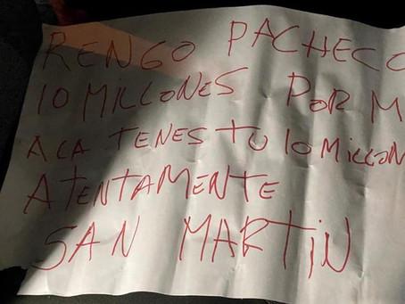 Hallan una nota con un mensaje mafioso junto al cuerpo del policía asesinado