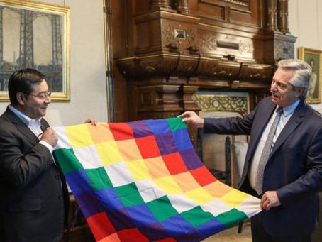 """""""Dolor y vergüenza"""": Alberto pidió disculpas a Bolivia por el material bélico enviado por Macri"""
