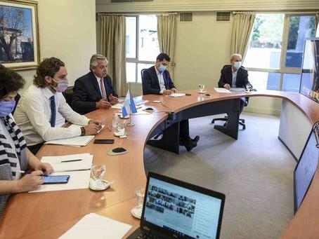 El Presidente propuso a los gobernadores medidas para limitar la circulación de 23:00 a 6:00