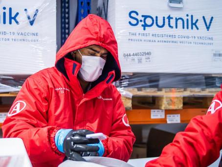 El Gobierno distribuye 494.400 Sputnik V y todos los mayores de 60 años ya estarán vacunados