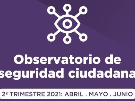 Continúan las acciones llevadas adelante por el Observatorio de Seguridad Ciudadana de Quilmes