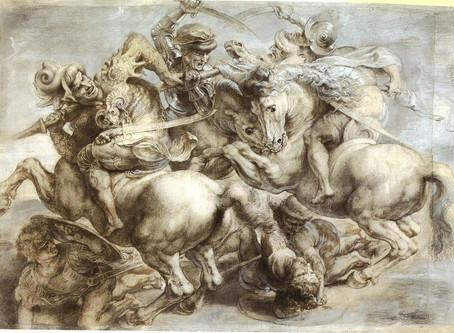 "Historiadores afirman que Da Vinci nunca pintó su fresco más famoso: ""La batalla de Anghiari"""