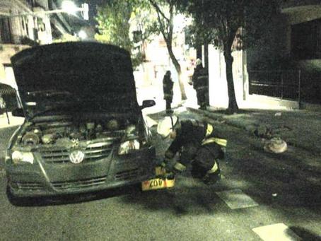 Un automovilista arrolló y mató a un hombre que estaba recostado en la calle en Balvanera