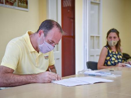 El Municipio y la UNQ firmaron un convenio de prácticas para la licenciatura en enfermería