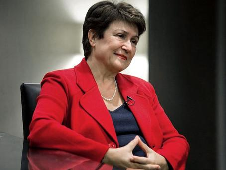 Con un contundente apoyo del directorio, Georgieva continuará al frente del FMI