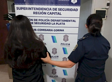 Detuvieron a una joven que intentó ingresar marihuana prensada a la Unidad Carcelaria 18 de La Plata