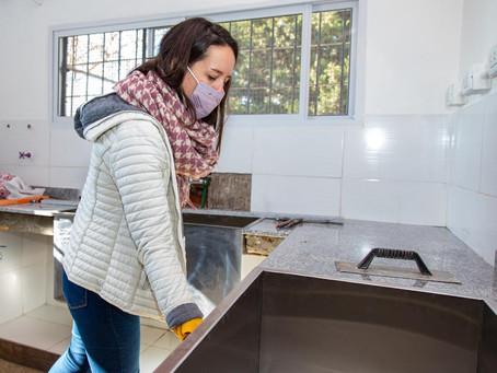 Finalizó la obra de refacción y mejoras en la cocina de la Escuela Primaria Nº 79