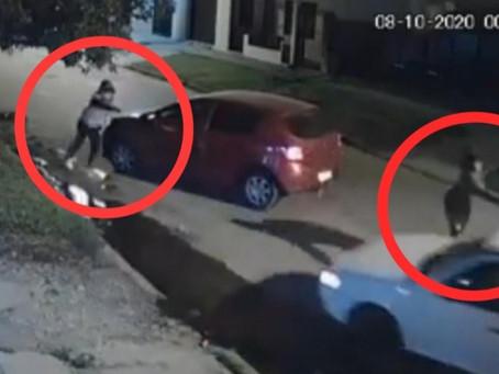 Bernal: le tiraron dos tiros para robarle el auto, escapó marcha atrás y se salvó de milagro