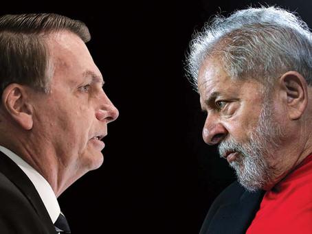 Bolsonaro dice que el pueblo brasileño merece sufrir si elige a Lula presidente en 2022
