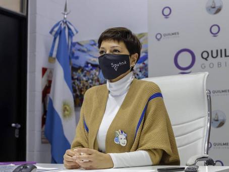 """Mayra anunció cambios en el gabinete: """"El objetivo es que los vecinos de Quilmes vivan mejor"""""""