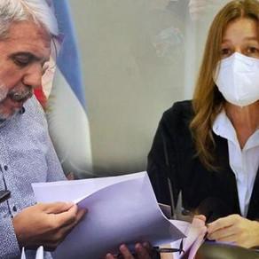 Aníbal Fernández se reunió con Sabina Frederic para ajustar detalles del traspaso de la gestión