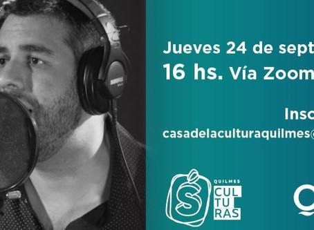 """El Municipio de Quilmes te invita al ciclo de charlas: """"Acortando distancias"""""""