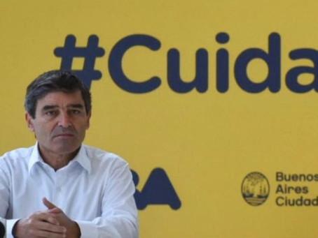 Quirós dijo que van a sostener las medidas de cuidado y resaltó la relevancia de la Vitamina D