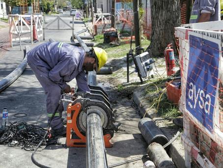 Quilmes Este: avanza la obra de renovación de red secundaria de agua