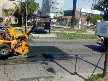 Continúan los trabajos diarios de servicios públicos en todos los barrios de Quilmes