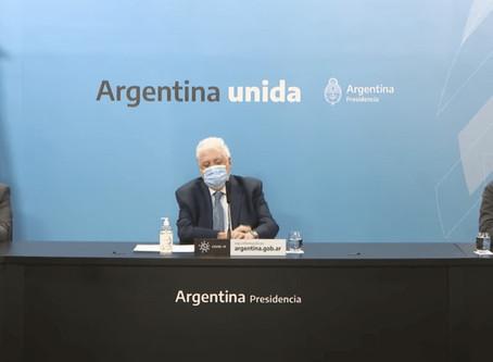 González García y Moroni anunciaron la extensión del bono de $5.000 a los trabajadores de la salud