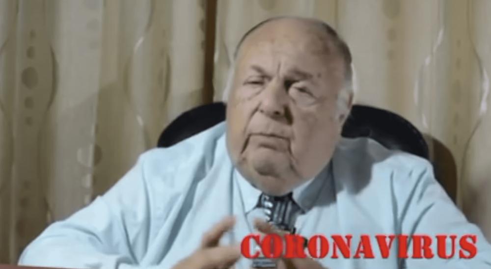 """""""Médico chanta promete curar el coronavirus con vapor"""""""