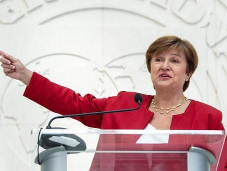 """Kristalina Georgieva: """"El panorama de la economía mundial es menos grave, pero desigual"""""""