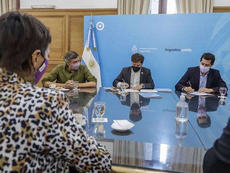 Mayra Mendoza participó de la firma del programa de infraestructura para municipios bonaerenses
