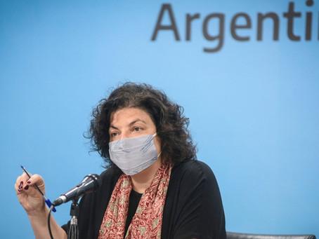 """Vizzotti: """"La situación es crítica; la más preocupante desde que empezó la pandemia"""""""