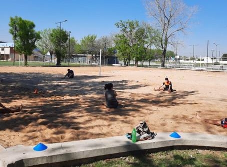 El Municipio de Quilmes reabrió el polideportivo para realizar actividades físicas individuales