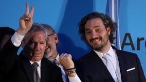 Felipe Sola respaldo a Santiago Cafiero