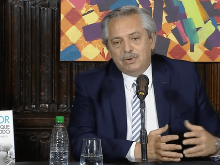 """Alberto Fernández: """"Estoy muy confiado en alcanzar una solución con el FMI"""""""