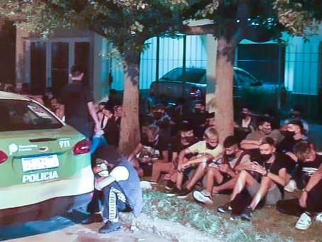 El Municipio desactivó fiesta clandestina en Quilmes Oeste: había marihuana y hongos alucinógenos