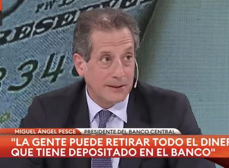 """Pesce: """"Necesitamos aumentar las exportaciones para que nuestro mercado de cambios funcione"""""""