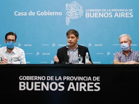"""El Gobernador bonaerense le deseó """"una pronta recuperación"""" al Presidente"""
