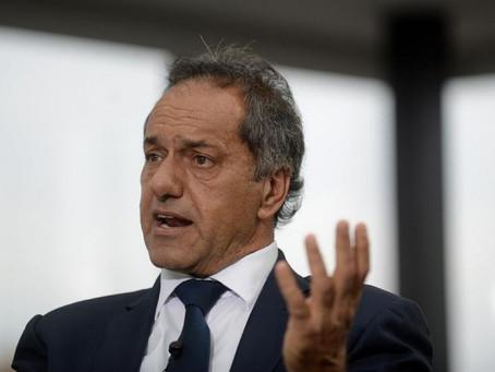 """Scioli: """"Se reconstruyó el diálogo con Brasil y juntos vamos a recuperarnos más rápidamente"""""""