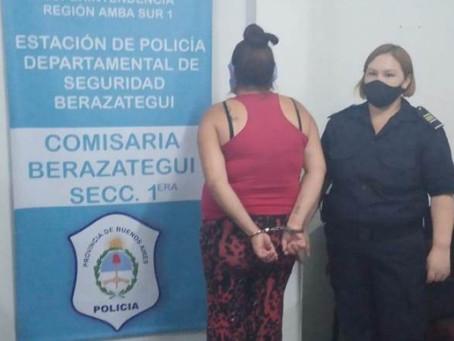 Berazategui: detuvieron a una pareja que sería autora de un asalto a un taxista