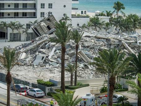 """""""El garaje del edificio siempre estaba inundado"""", dijo una sobreviviente del derrumbe de Miami"""