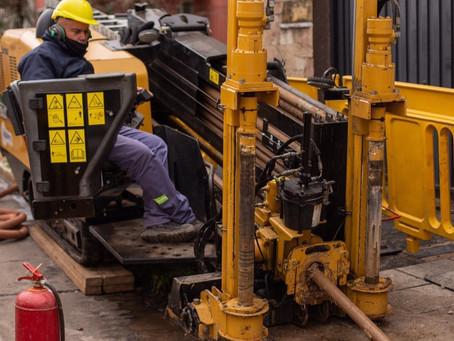 Quilmes Este: avanza la obra hidráulica que beneficiará a 15 mil vecinos