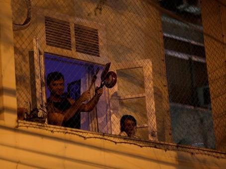 Masivo cacerolazo en Brasil contra Bolsonaro por el caos y desborde sanitario: piden la renuncia