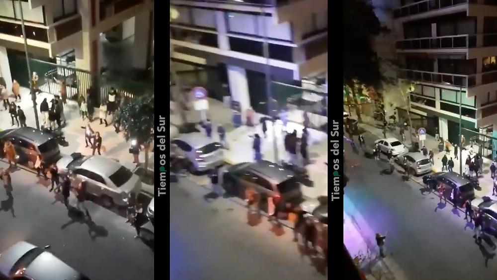 """Teresa García calificó como un """"acto de irresponsabilidad"""" el baile en las calles de Recoleta"""