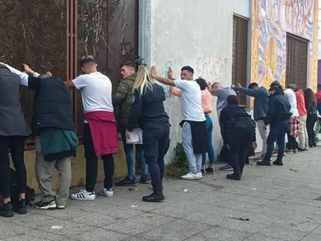 Desarticulan diez fiestas clandestinas y clausuran una cervecería en Mar del Plata