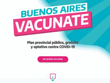 Este es el formulario que tenés que rellenar para poder vacunarte contra el coronavirus