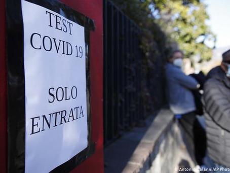 Alerta en Italia: hay un posible caso autóctono de la nueva cepa de coronavirus