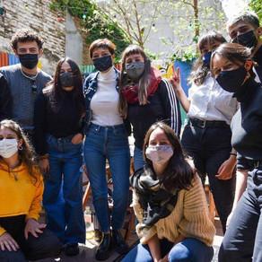 Mayra compartió distintos encuentros con jóvenes quilmeños por el Día del Estudiante