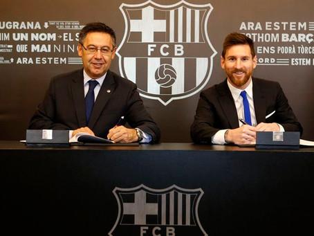 """El Barcelona demandará al diario español """"El Mundo"""" por publicar el contrato de Messi"""