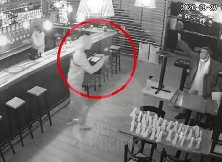 VIDEOS: La misma banda que atracó en Wilde también cometió una ola de robos en Lanús