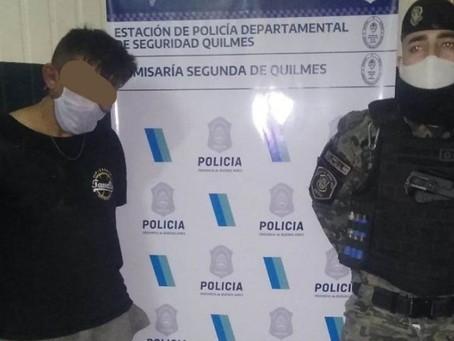 Villa Itatí: Detuvieron a delincuente armado tras persecución y operativo cerrojo