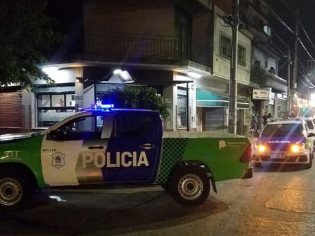 Bernal: detuvieron a tres sujetos por venta de drogas tras una larga persecución