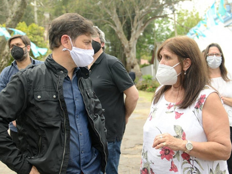 Teresa García confirmó que Buenos Aires recibirá 123 mil dosis de vacunas contra el coronavirus