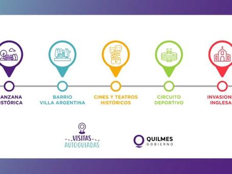 """El municipio de Quilmes lanzó el programa """"Visitas Autoguiadas"""" para conocer los sitios emblemáticos"""